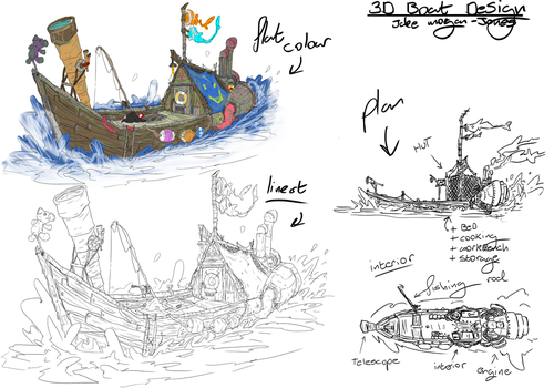 Boat Concept by TheGrimMeanie