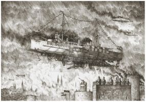 The launching of S.M.S Monarch by JanBoruta