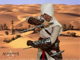 Altair cosplay by kimberlystudio