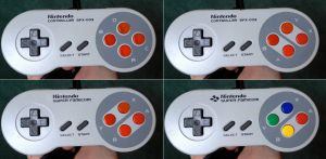 Super Famicom Prototype variations by TerraRISE