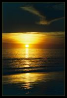 Reddell Beach sunset 4 by wildplaces