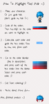 How To .:. Color Tips of Hair by CaeruliaAutumnale