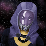 Tali, Stars in her Eyes by Revenia