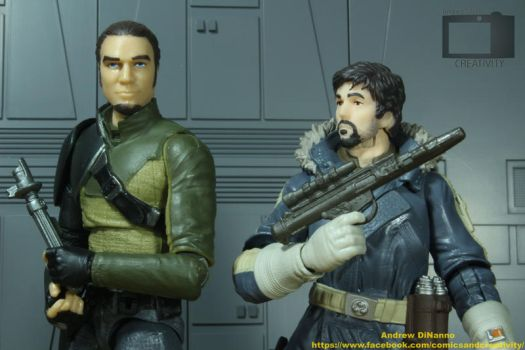 Kanan Jarrus and Cassian Andor Team Up by GhostLord89
