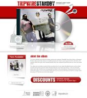 Tripwire.in - CD Launch Page by alvito