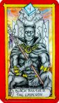 Marvel Tarot - Black Panther - The Emperor by IAmABananaOo