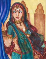 Indian princess by Soji-chan