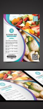 Restaurant Flyer by pascreative