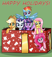 Happy Holidays by RatofDrawn