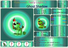 Pokemon Fairy Light and Ghost Shadow ''001'' by AndkeAnka