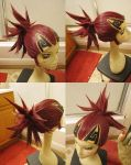 Bleach: Renji wig by red-cluster