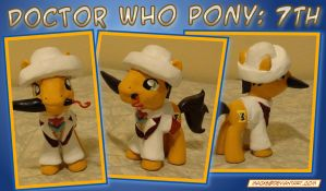 Doctor Who Pony - 7th Doctor by HeyLookASign