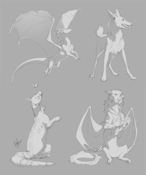 Totem Prize Sketches 1 by hellcorpceo