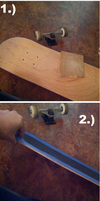 Death The Kidd's Skateboard Beelzebub Tutorial by EdgyPixel