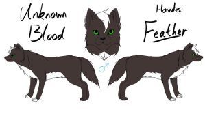 Unknown Blood - Feather Reference by fluffylovey