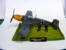Messerschmitt Bf 109 E (Adolf Galland) (1) by Quenta-Silmarillion