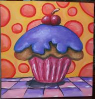 cup cake by Yocheved