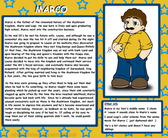 Profile: Marco by Nintendrawer