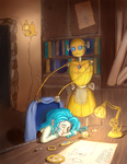 Late night's work by Renoxile