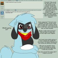 Ask Shell The Riolu No.1 Guys and Swapping! by Zander-The-Artist
