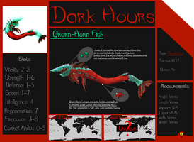 Dark Hours: Grorn-Horn Fish by Vagrant-Verse