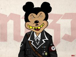 Nazi Mouse by Crack-Crk