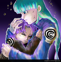 Dark Tomorrow - Future Trunks/Bulma (DBZ) by saiyanbura