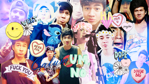 Wallpaper / Calum Hood by PamHoran