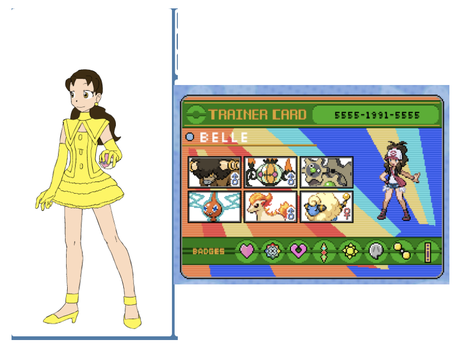 Belle Pokemon Trainer by 516tigergirl