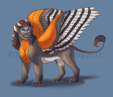 Starveling Sphinx Design by thornwolf