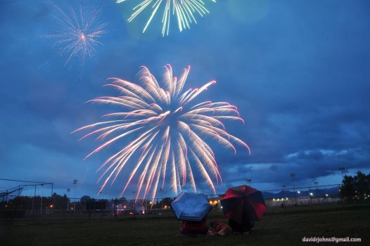 Fireworks in Anchorage 2 by Djohns