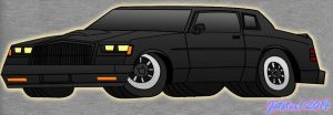 Buick Grand National Toon by Jetster1