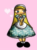 Alice in Wonderland Chibi by Laia-pink
