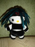 Envy hellokitty plushie by Rens-twin