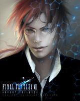 Final Fantasy VII  - Reno by oione