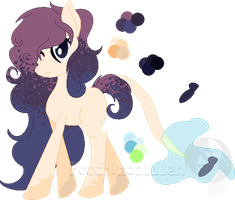 .:ART/ADOPT:. Fishie-Tail Pony - CLOSED by Bocchinocullen