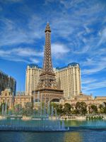 Vegas- Eiffel Tower by renonevada