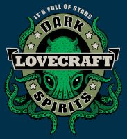 Lovecraft Dark Spirits by rebekieb
