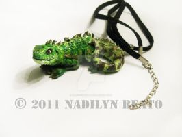 Chinese Water Dragon by NadilynBeato