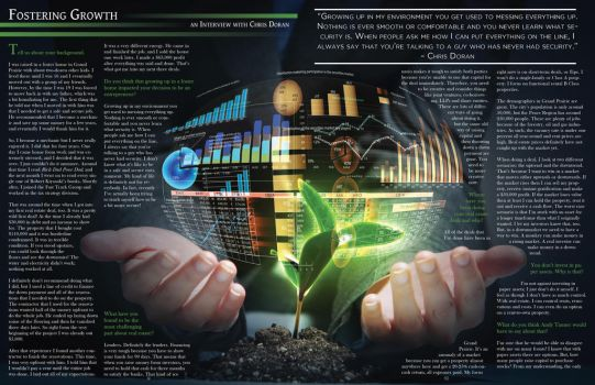 Wealth Community two-page Spread by aru