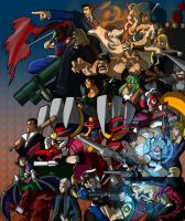 Ultimate Marvel vs. Capcom 3: Capcom side by Franckjp