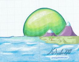 Island Background (Sample) by KSapphire8989