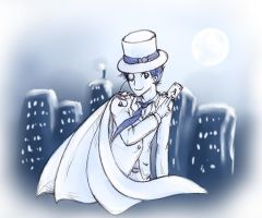 Kaito KID by Ardhes