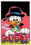 Uncle Scrooge homage to JKirby by crpechonick