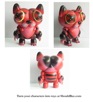 El Gatto Painted Prototype Toy by ShouldBee