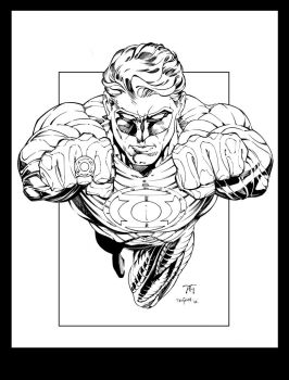 Green Lantern Inks by devgear