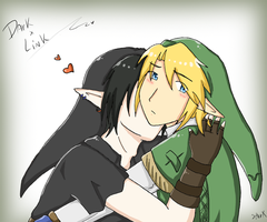 1. Dark x Link by SparxPunx