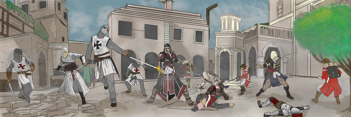 Assassin's Creed: Generations by PAYNEtacular