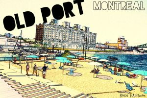 Old Port Montreal by miskiti