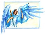 OES Angel Adah by teutelquessir